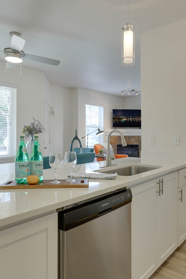 Dishwasher Equipped Kitchen Apartments - Sunfield Lakes